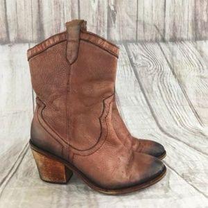 Sam Edelman Women's Nile Whiskey Western Boots 6.5